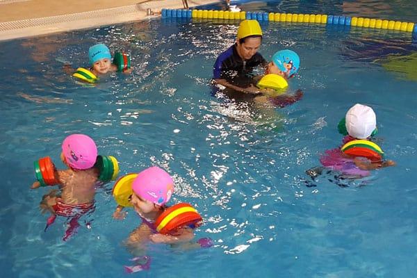 natación para niños