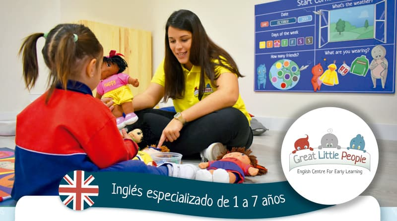 Vuelven las clases de inglés con Great Little People